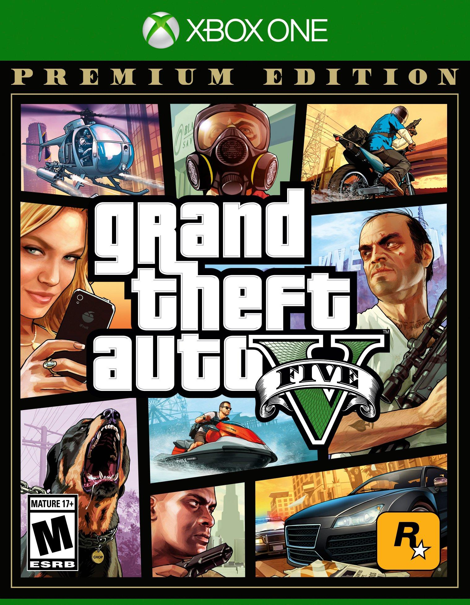 Grand Theft Auto V: Premium Online Edition | Xbox One | GameStop