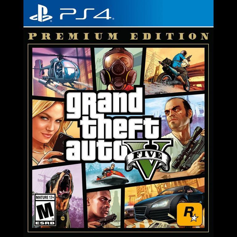 Grand Theft Auto V: Premium Edition - PlayStation 4 Xbox One Rockstar Games