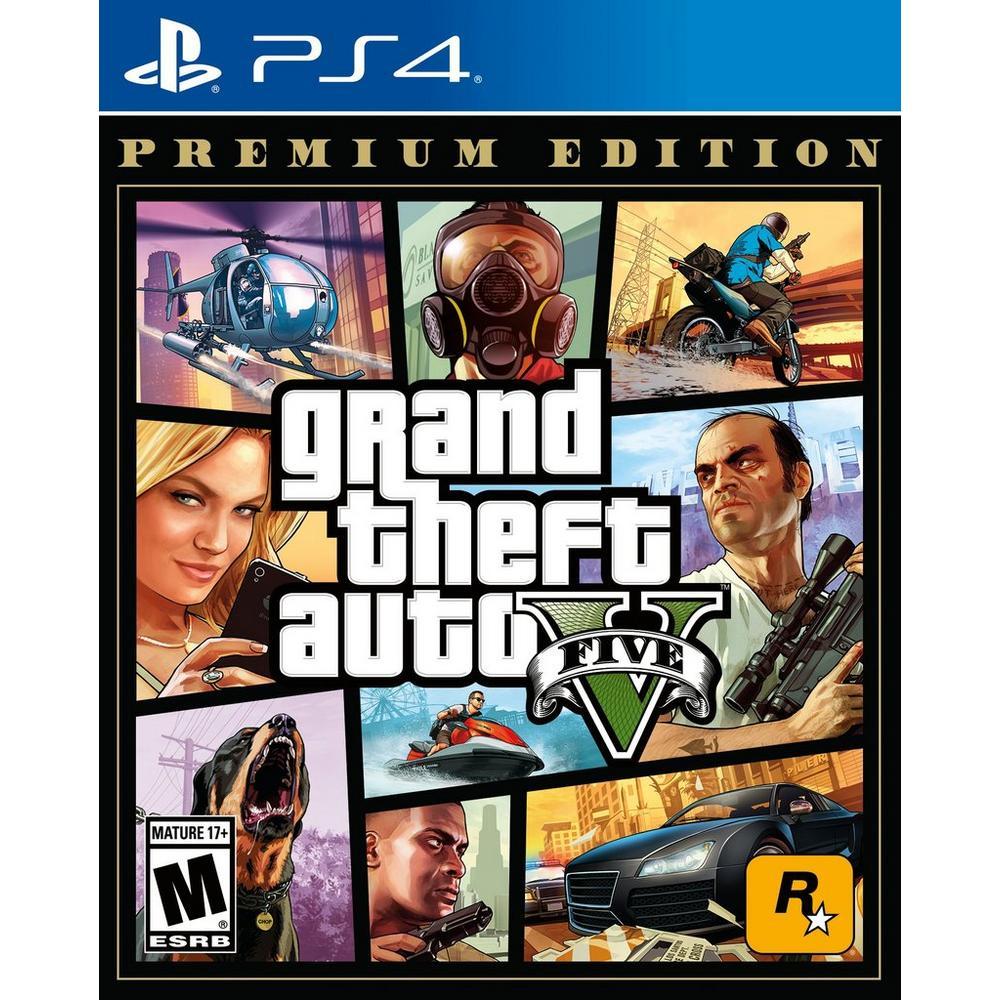 Grand Theft Auto V: Premium Online Edition | PlayStation 4 | GameStop