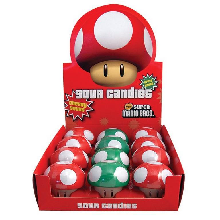 Super Mario Brothers Mushroom Sours