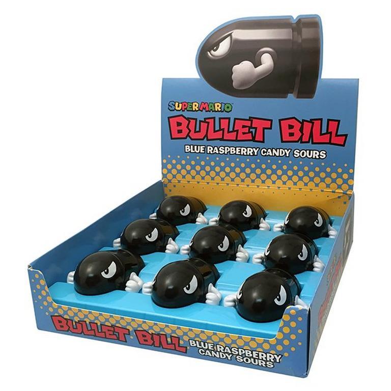 Super Mario Bullet Bill Candy Tin