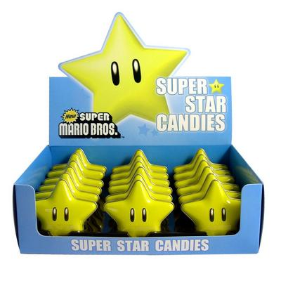 Super Mario Brothers Super Star Candy