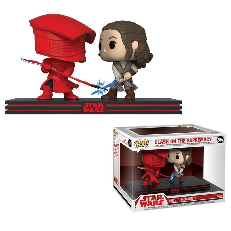 POP! Movie Moments: Star Wars Clash on the Supremacy Rey and Praetorian