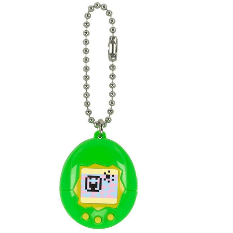 Tamagotchi Virtual Pet 20th Anniversary Edition Series 3 - Green/Yellow