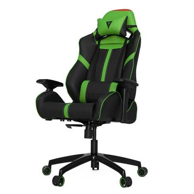 S-Line SL5000 Black and Green Racing Series Gaming Chair