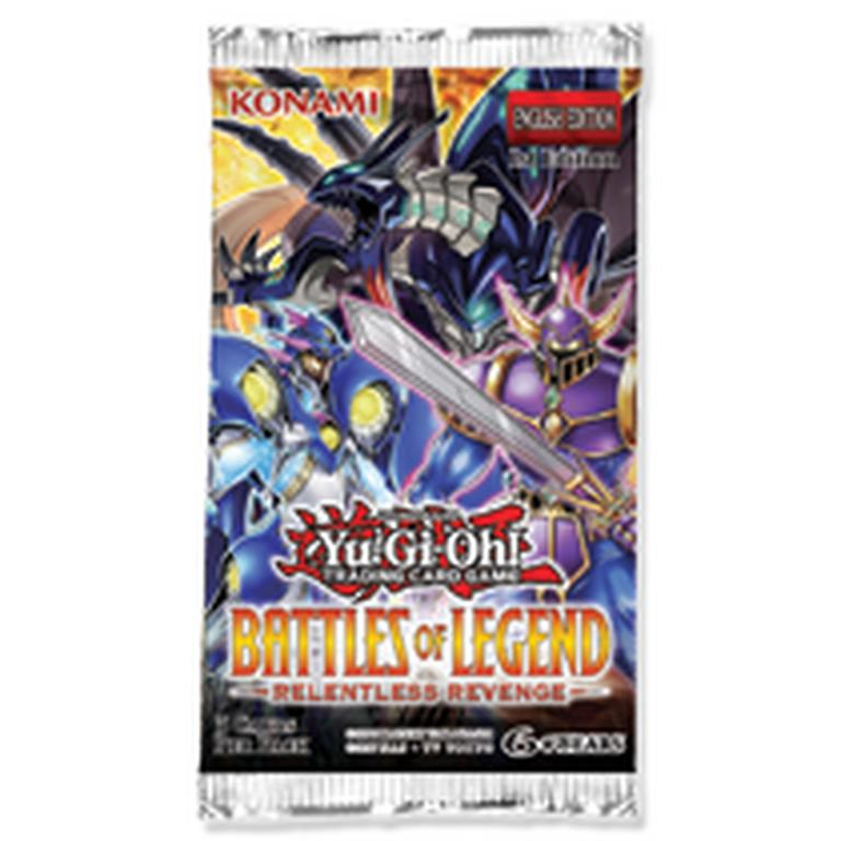Yu-Gi-Oh! Battles of Legend: Relentless Revenge Booster Pack (Assortment)