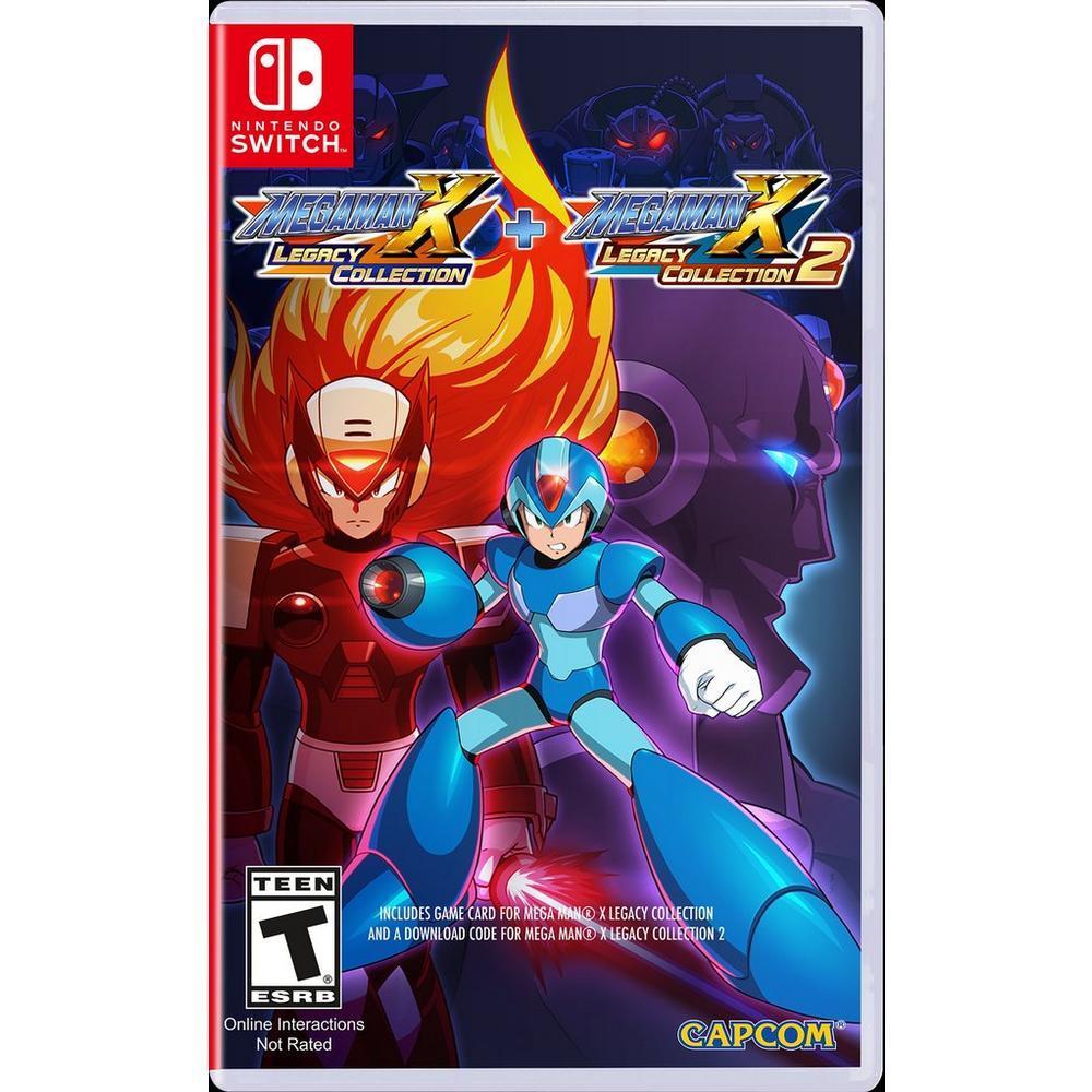 Mega Man X Legacy Collection 1 + 2 | Nintendo Switch | GameStop