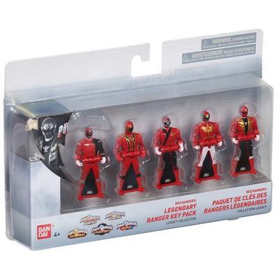 Power Rangers Legacy Red Ranger Key Set
