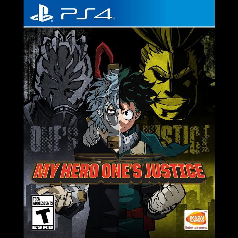 My Hero One S Justice Playstation 4 Gamestop