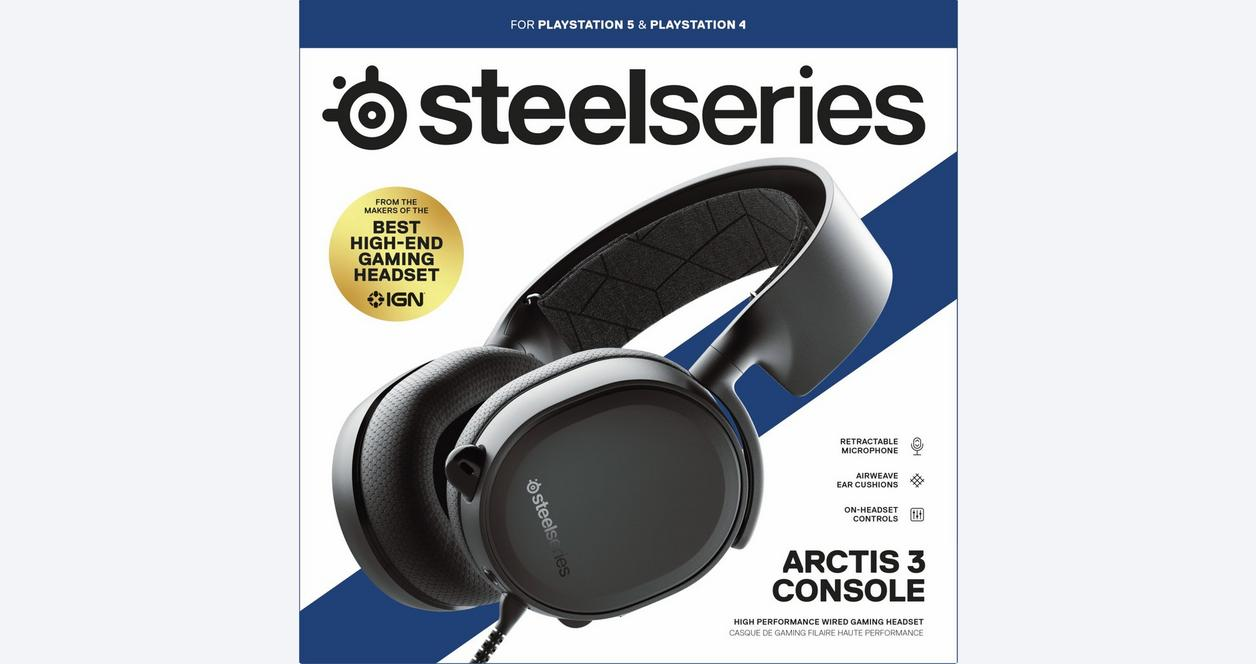 SteelSeries Arctis 3 Console Headset | <%Console%> | GameStop