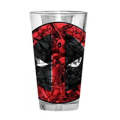 Marvel Deadpool Pint Glass 16oz