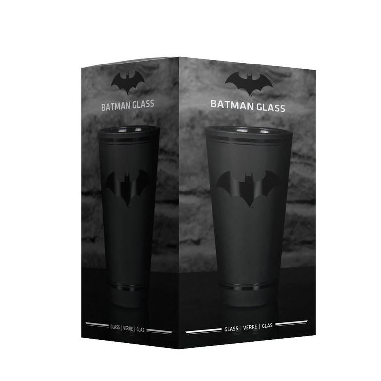 16 oz. Batman Black Pint Glass