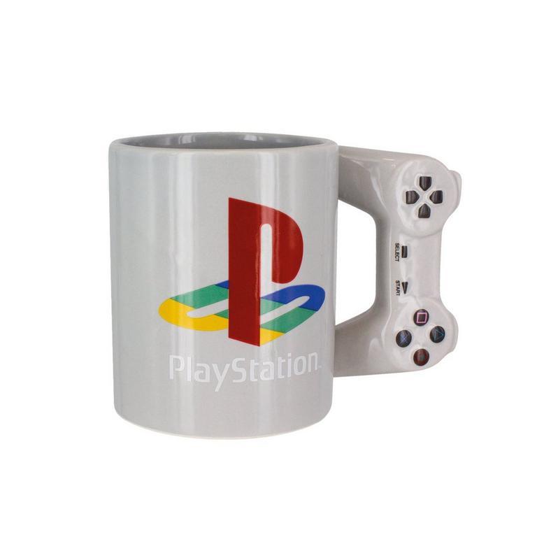 PlayStation Grey Mug with Controller Handle