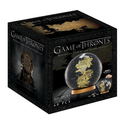 Game of Thrones: 3 Inch World Globe Puzzle