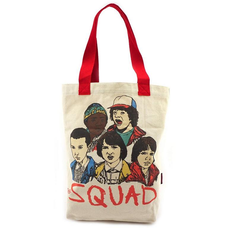 Stranger Things Canvas Tote Bag
