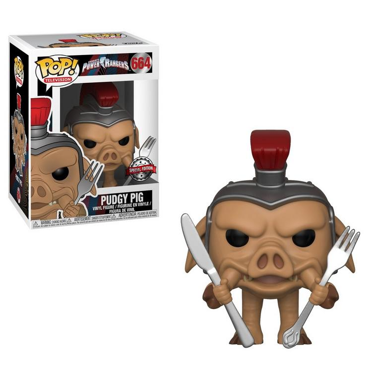 POP! TV: Power Rangers Pudgy Pig Only at GameStop