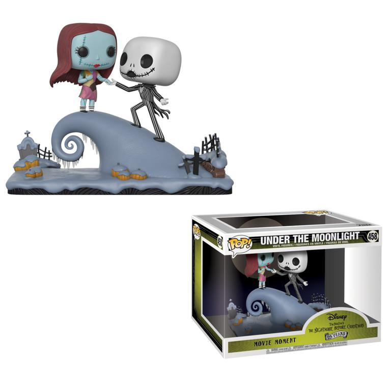 POP! Disney: Movie Moments The Nightmare Before Christmas Jack and Sally Under The Moonlight