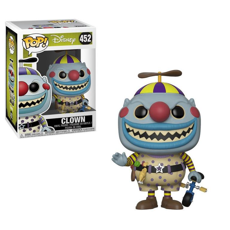 Nightmare Before Christmas Clown With A Tear Away Face.Pop Disney The Nightmare Before Christmas Clown With The Tear Away Face Gamestop