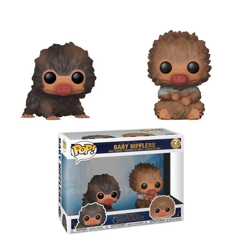 POP! Movies: Fantastic Beasts: The Crimes of Grindelwald - Baby Nifflers (2 pack)
