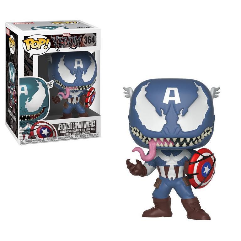POP! Marvel: Marvel Venom - Venomized Captain America