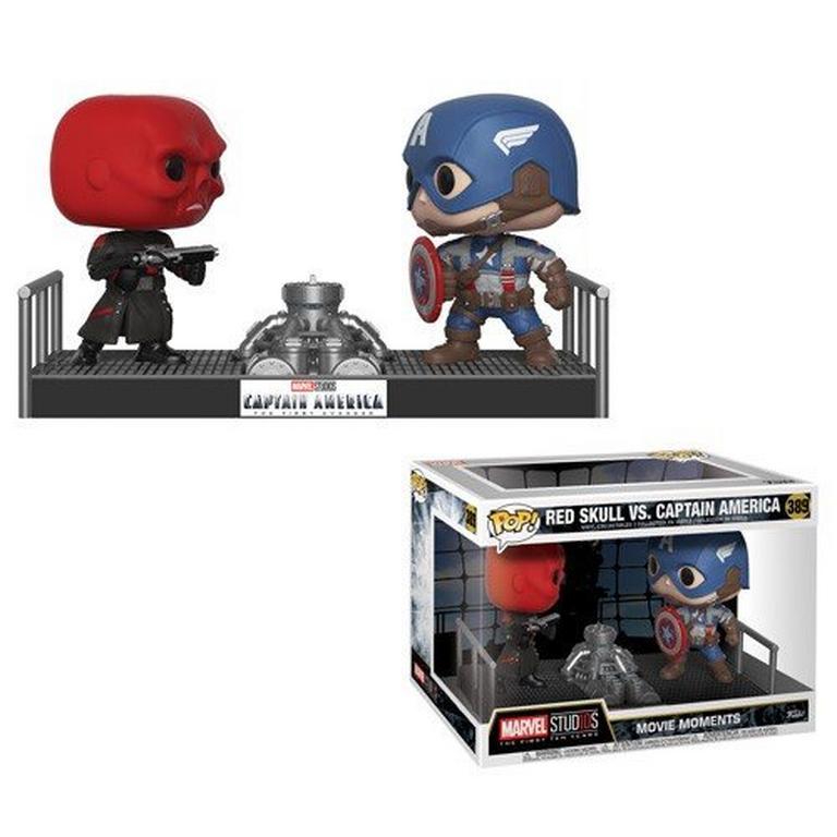 POP! Movie Moments: Marvel Studios The First Ten Years: Red Skull vs. Captain America