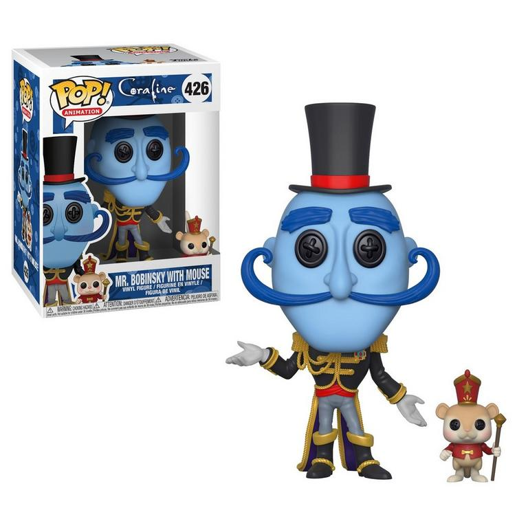 POP! Animation: Coraline - Mr. Bobinsky with Mouse