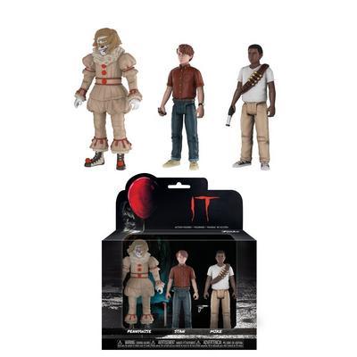 Action Figures: IT 3 Pack - Set 4