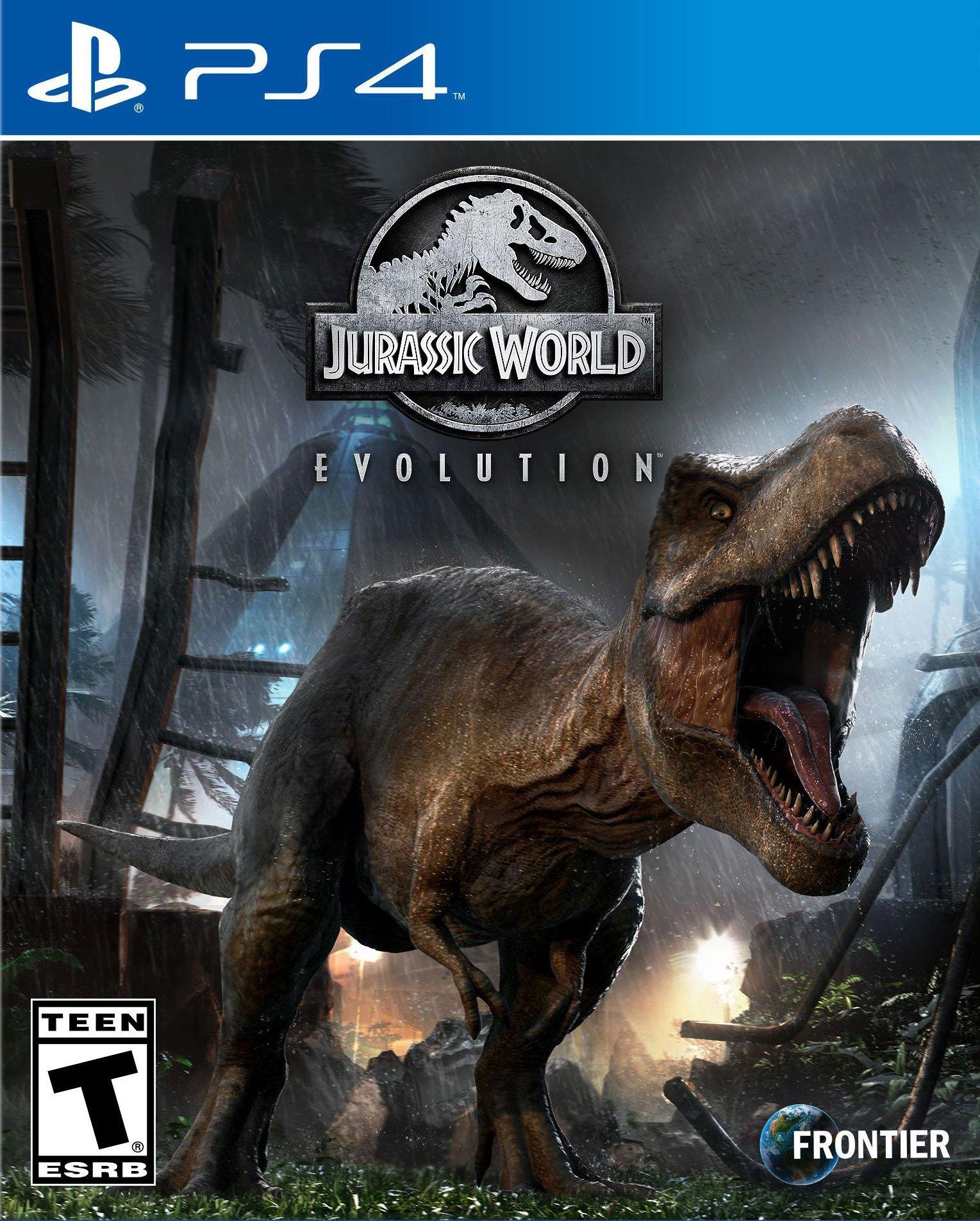 Jurassic World Evolution   PlayStation 4   GameStop