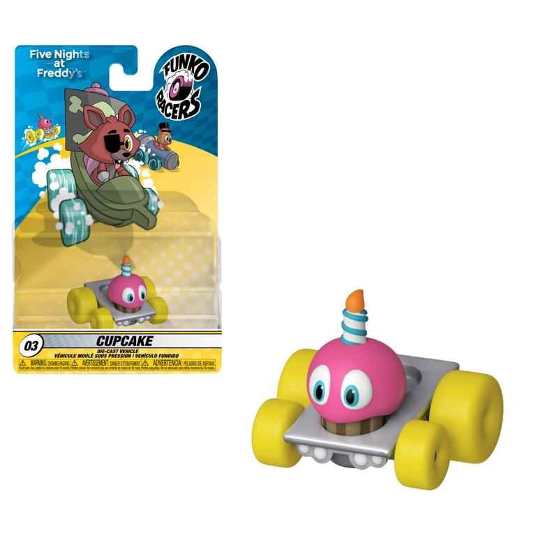 Five Nights at Freddy's Cupcake Funko Racers