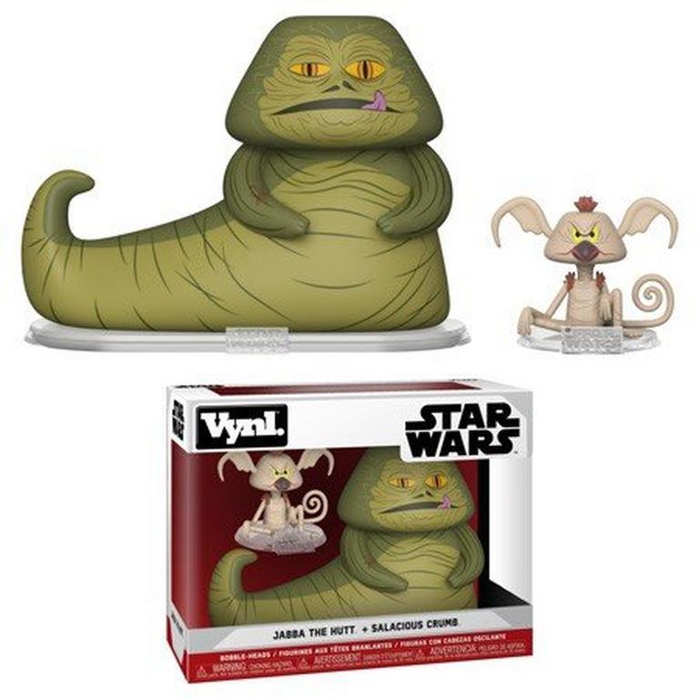 VYNL: Star Wars Jabba and Salacious Crumb 2 Pack