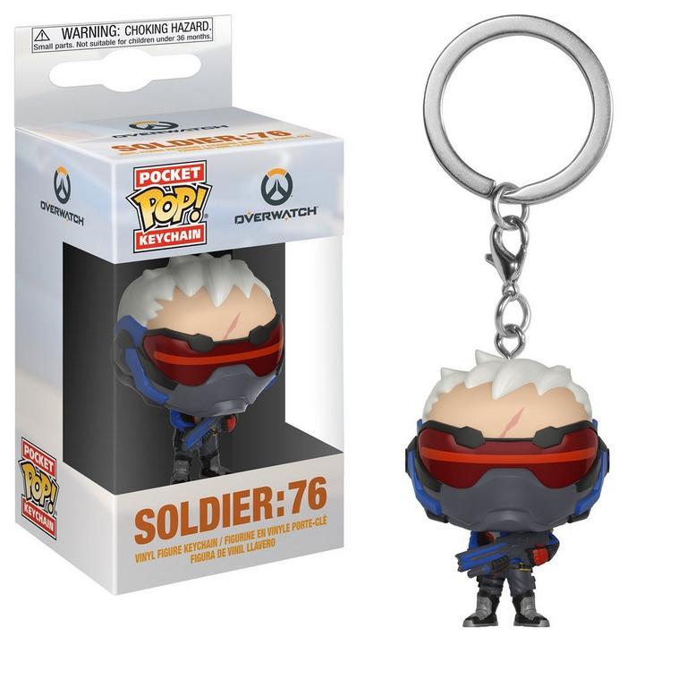 Pocket POP! Keychain: Overwatch Soldier: 76