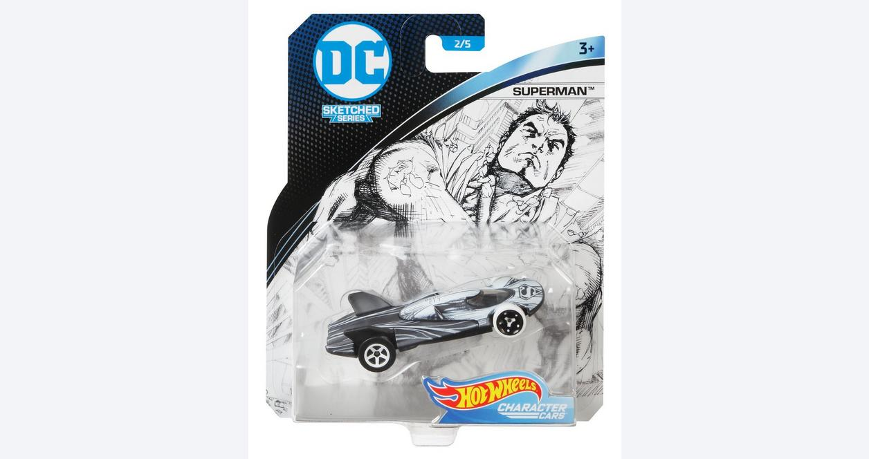 Hot Wheels DC Sketched Series