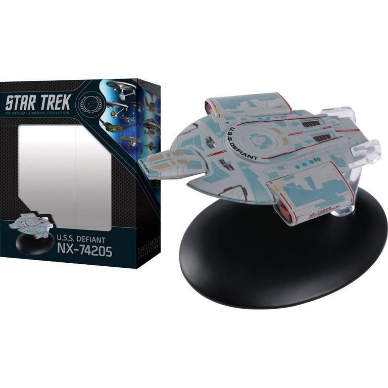 Star Trek U.S.S. Defiant NX-74205 The Official Starships Collection Statue