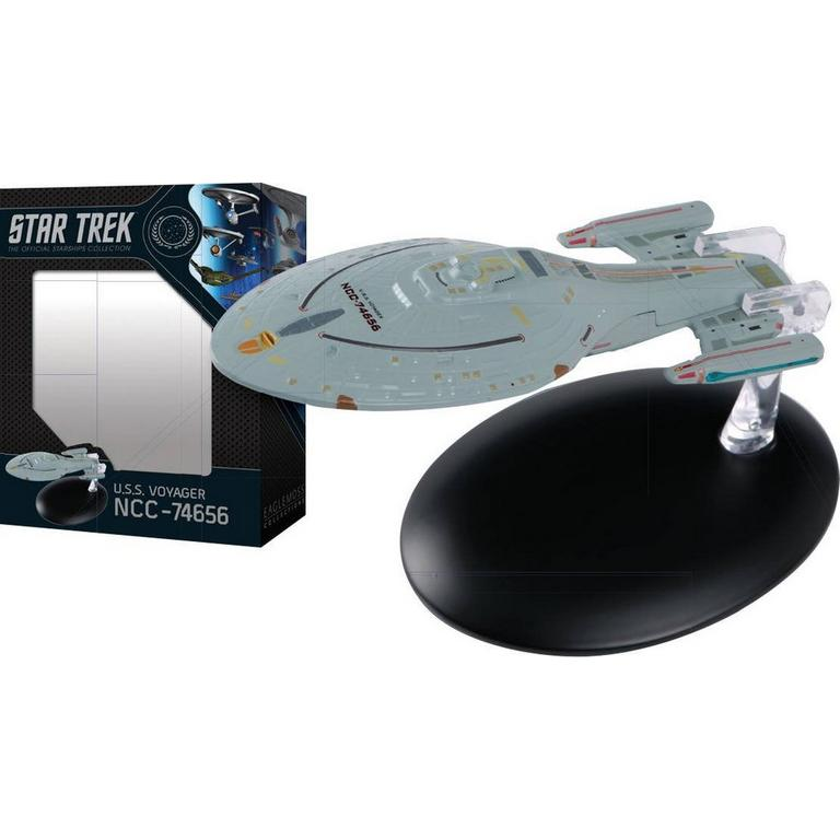 Star Trek U.S.S. Voyager NCC-74656 The Official Starships Collection Statue
