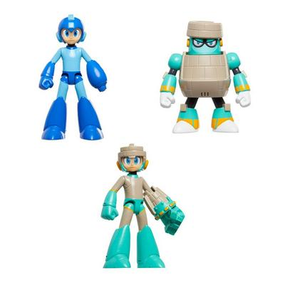 Mega Man Action Figure 3 Pack
