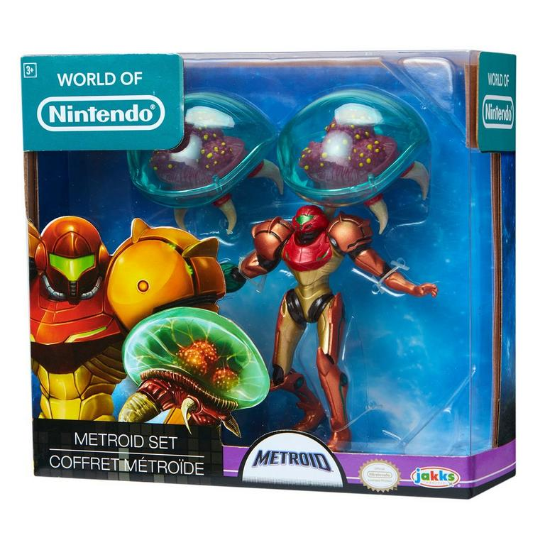 Metroid World of Nintendo Action Figure 3 Pack Only at GameStop
