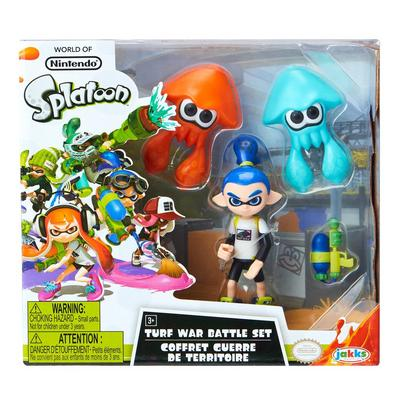 3 Pack Splatoon Action Figures - Only at GameStop