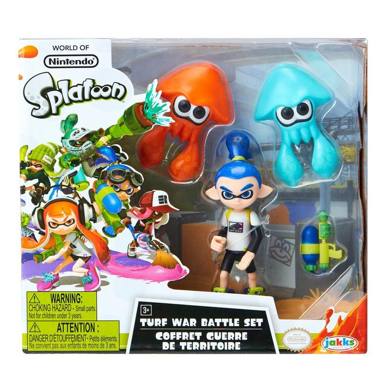 Splatoon Turf War Battle Set Only at GameStop