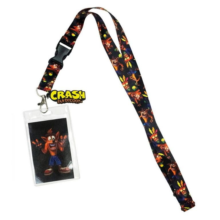 Crash Bandicoot Lanyard
