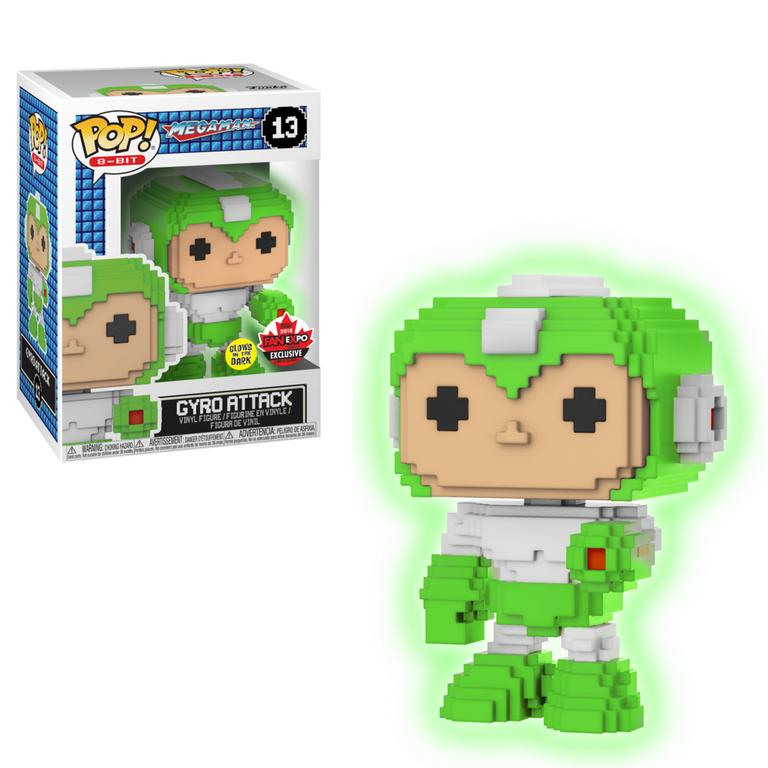 POP! 8-Bit: Mega Man Gyro Attack Glow in the Dark