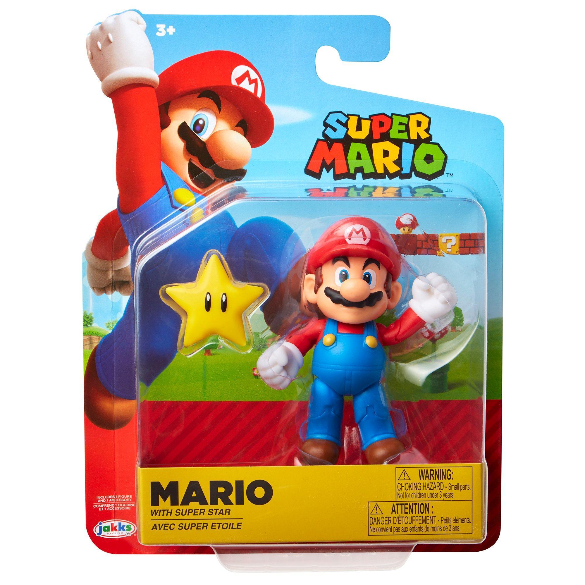 "New Super Mario Bros 5/"" Fire Mario Action figures Doll Free SHIPPING"