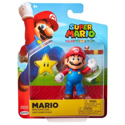 Super Mario with Star Accessory Action Figure