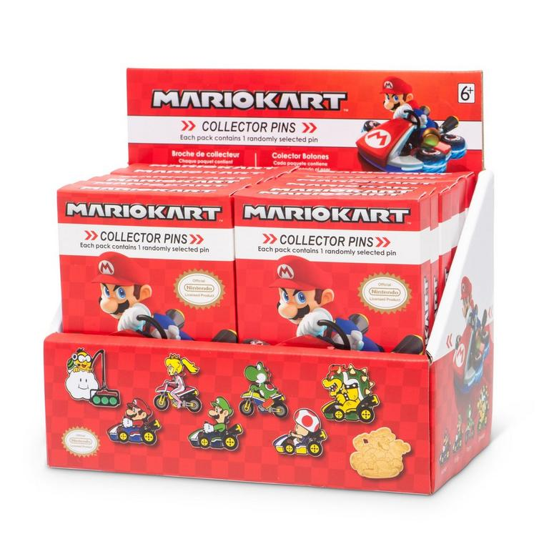 Mario Kart Series 2 Blind Box Collector Pin