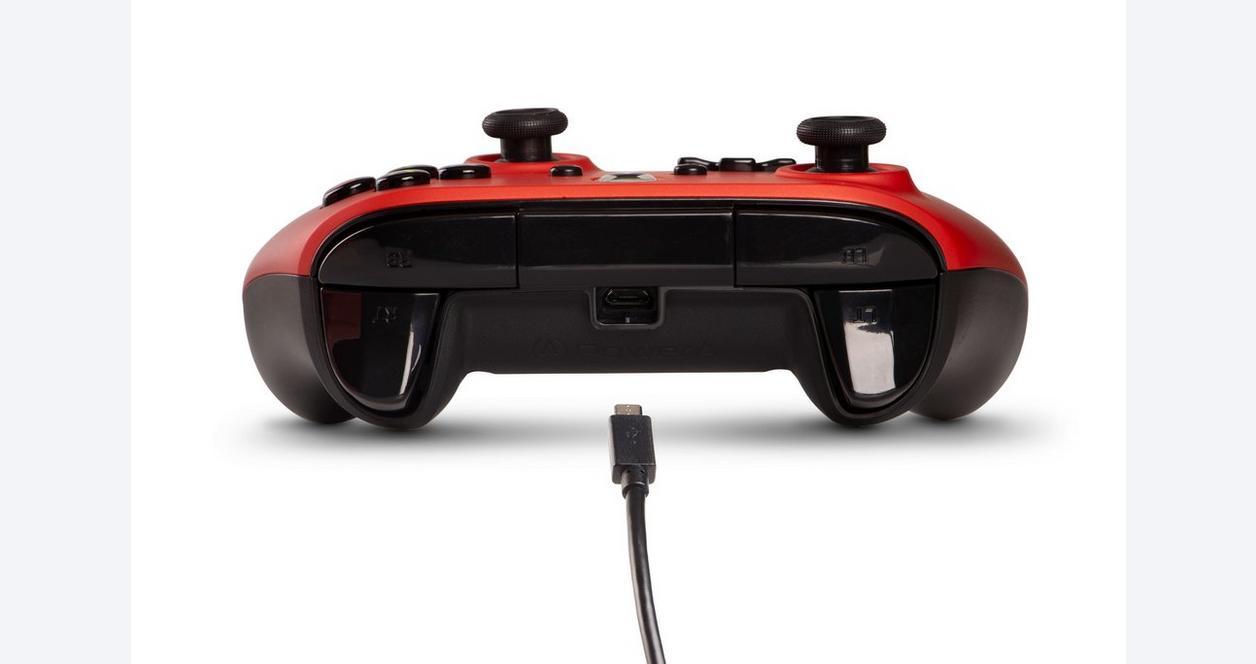 PowerA Enhanced Wired Controller for Xbox One - Crimson Fade