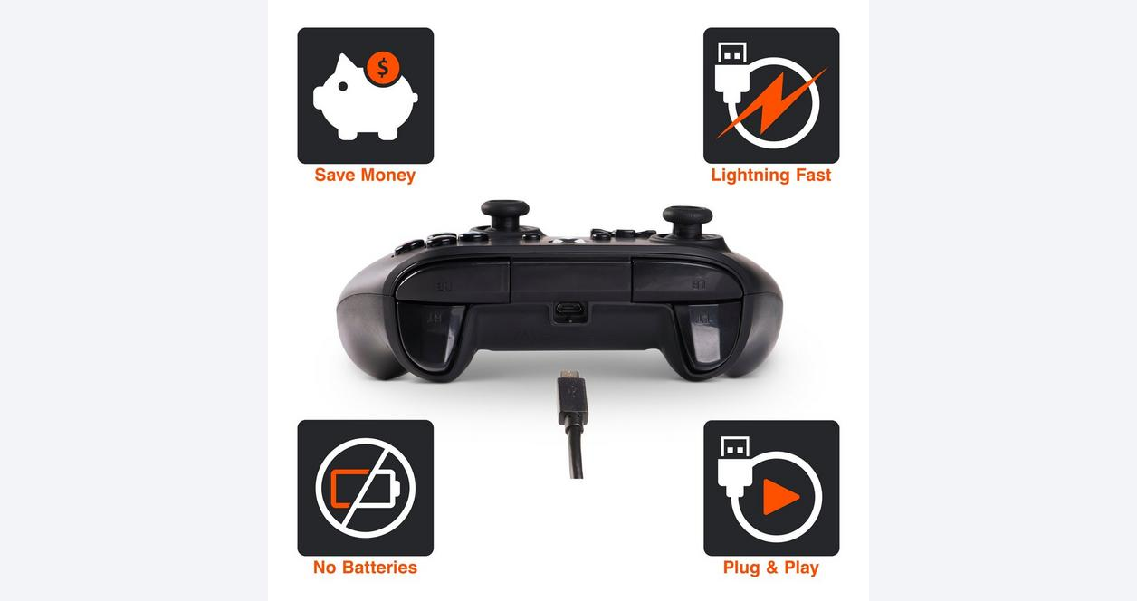 Sandstorm Camo Enhanced Wired Controller for Xbox One