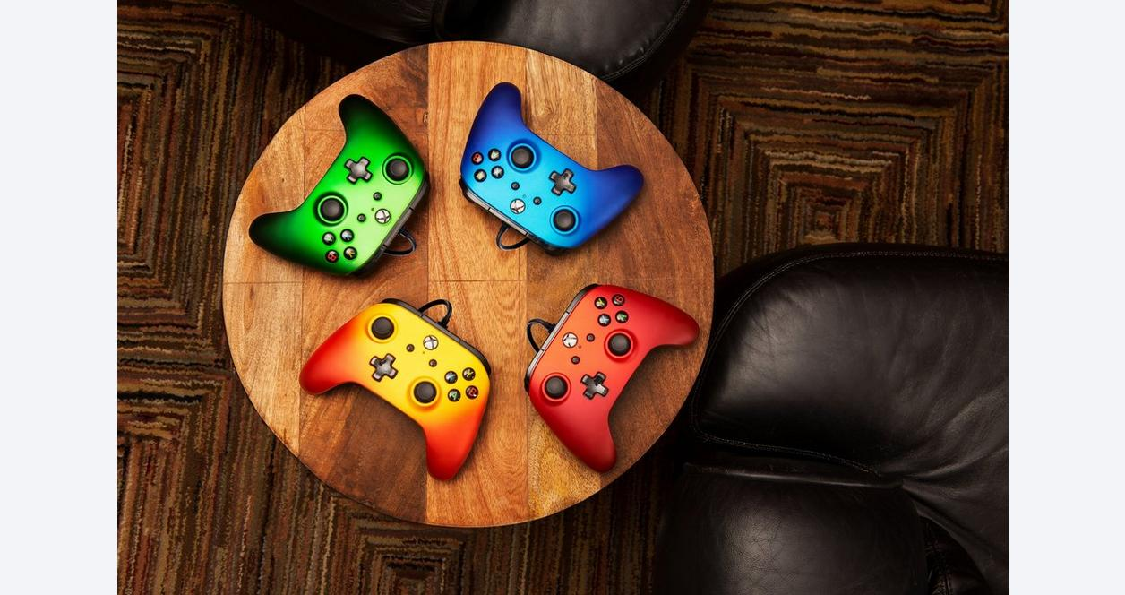 PowerA Enhanced Wired Controller for Xbox One - Sandstorm Camo