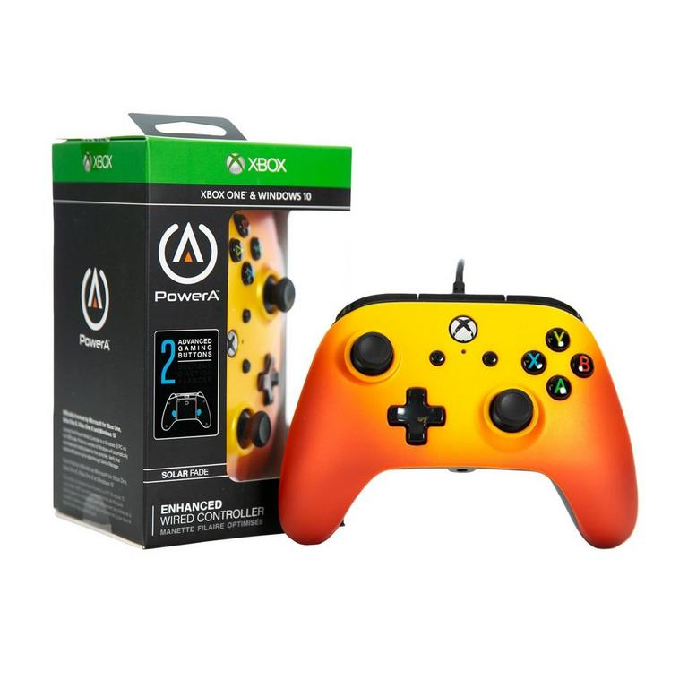 PowerA Enhanced Wired Controller for Xbox One - Solar Fade - Only at GameStop