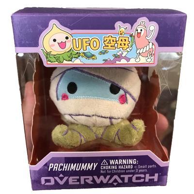 Overwatch Micro Pachimari Plush - Halloween (Pachimummy)