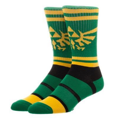 The Legend of Zelda Hyrule Crest Athletic Socks