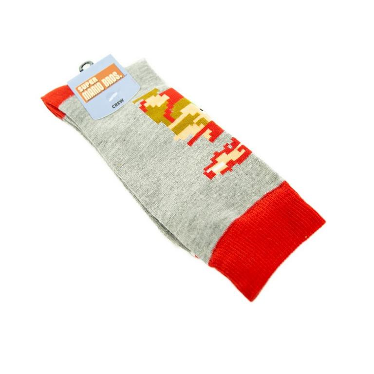 Super Mario Bros. Mario Crew Socks